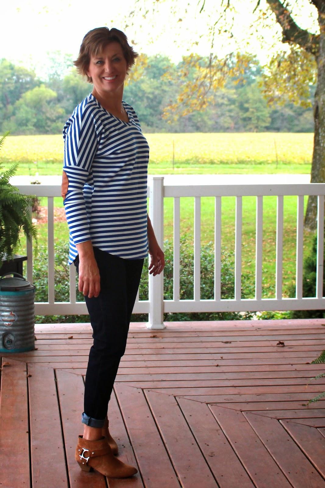 Girls in the Garden - Pumpkin Spice Dolman Shirt - Patterns for Pirates