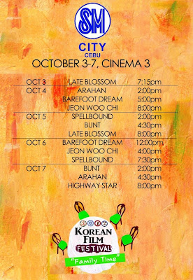 2012 Korean film festival SM Cebu screening