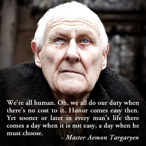 Words By Maester Aemon Targaryen game of thrones quotes