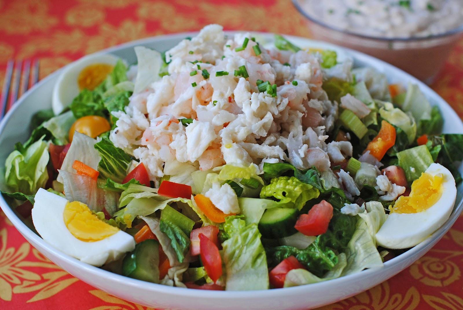 Crab Cake Salad Recipe