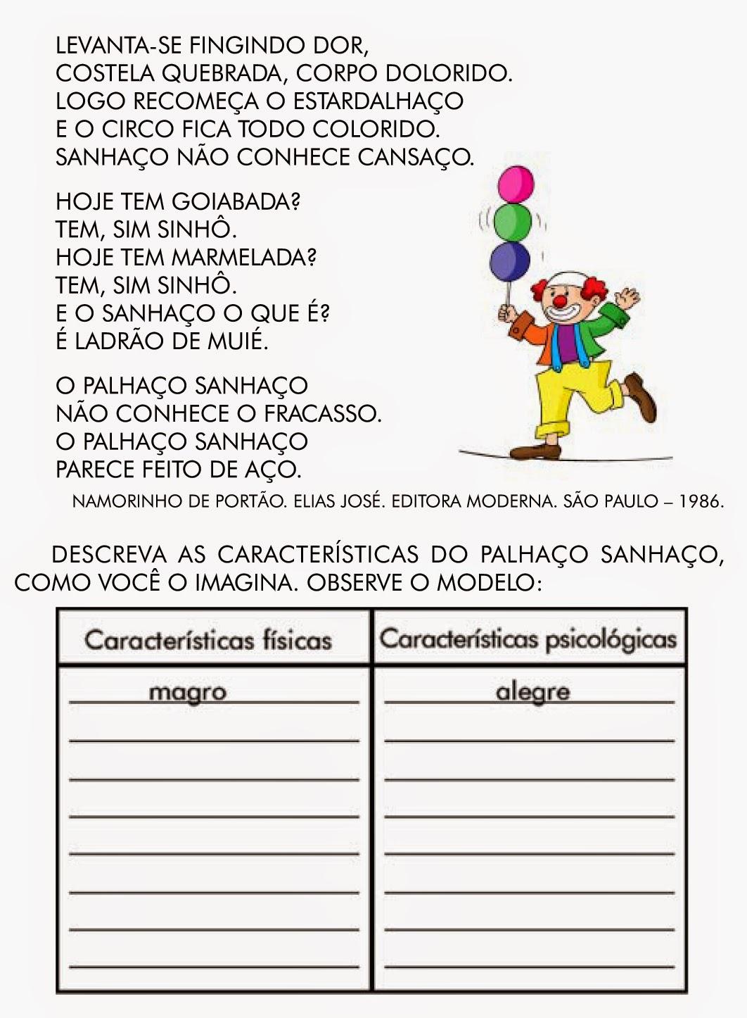 Muito Escola Saber: Atividades de português 3 ano fundamental  CB02