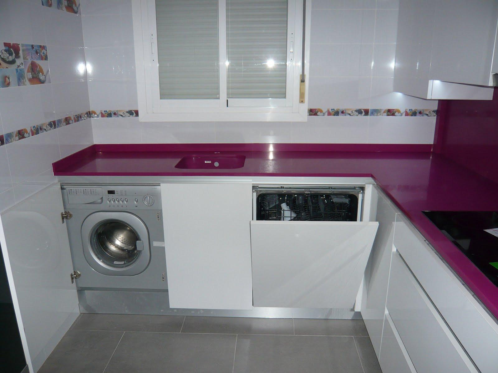 Reuscuina muebles de cocina con gola integrado y luces - Luces para cocinas ...