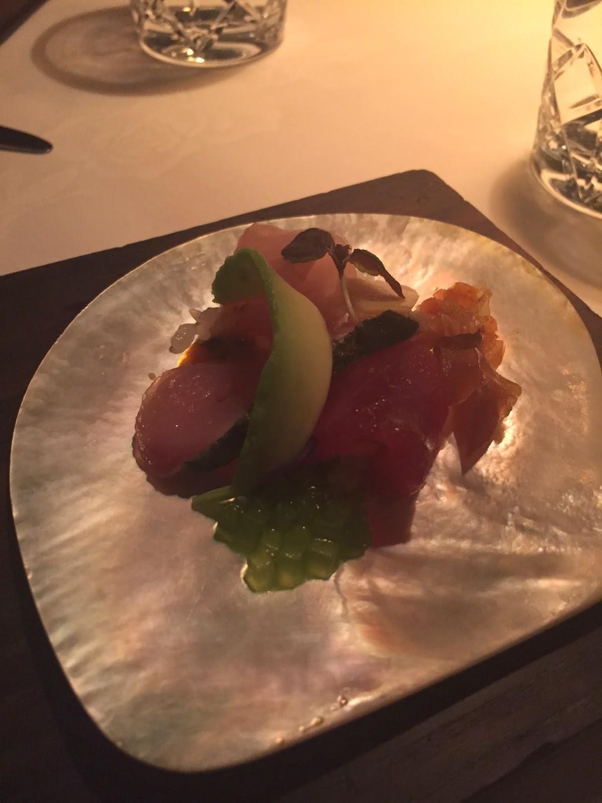 Cassie Cakes Rockpool Sydney Chirashi of Sushi