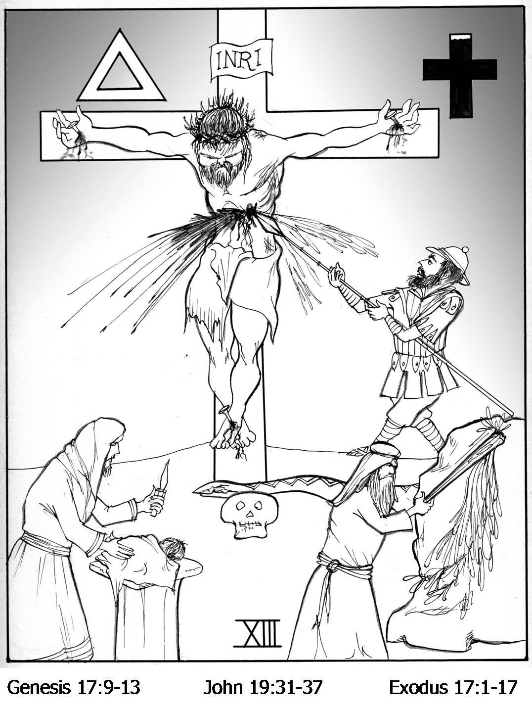 stations of the cross coloring pages get free high quality hd