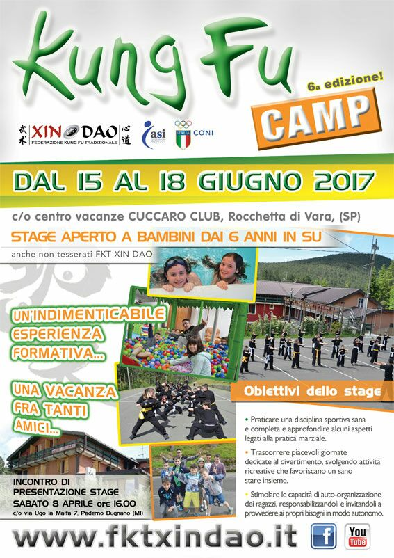 KUNG FU CAMP 2017