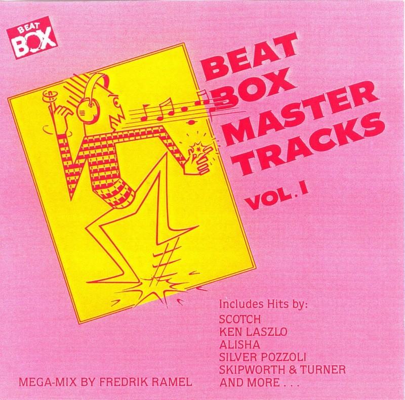 Beat Box Master Tracks compilation 5 Volumenes