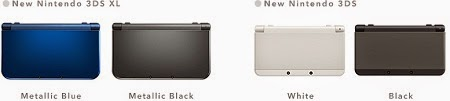 New Nintendo 3DS and New Nintendo 3DS XL front color