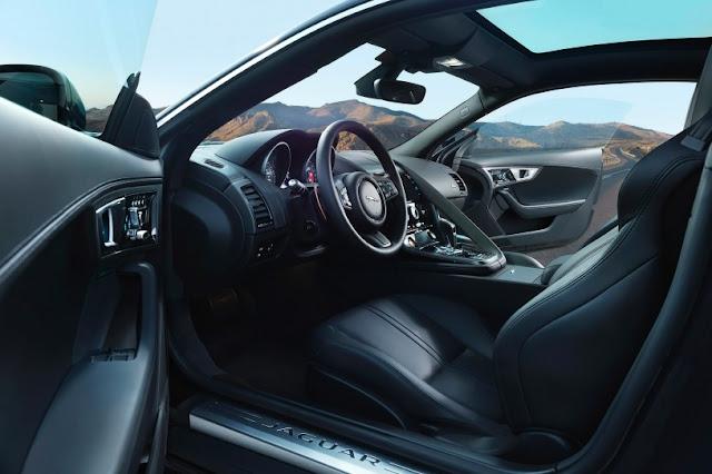 2016 Next Jaguar F-Type Coupe Generation interior front view