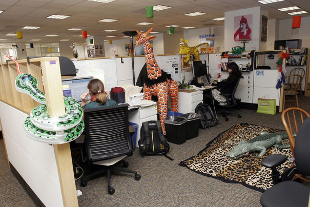 Google réinvente l espace de travail le mouvement immobilier