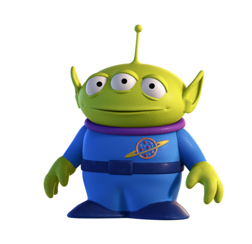 Toy Story Alien Png isso ai, beijo meninas(os)!