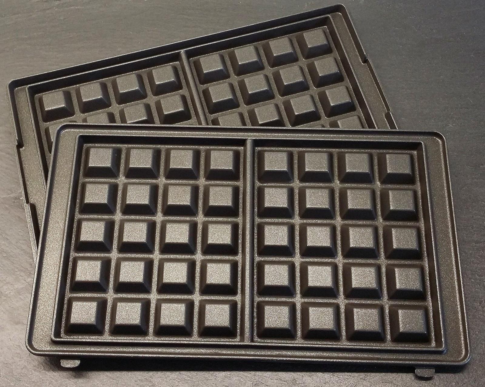 Toastmaskine med løse plader