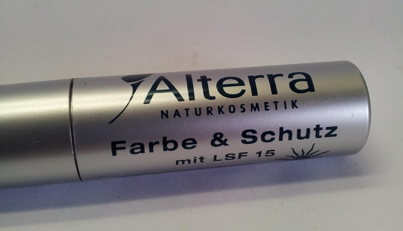 Alterra Lippenstift Farbe&Schutz