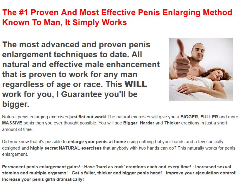 Can you actually make your penis bigger? - Mens Fitness