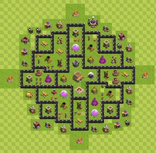 Base Hybrid Layout TH8 By. Doriya