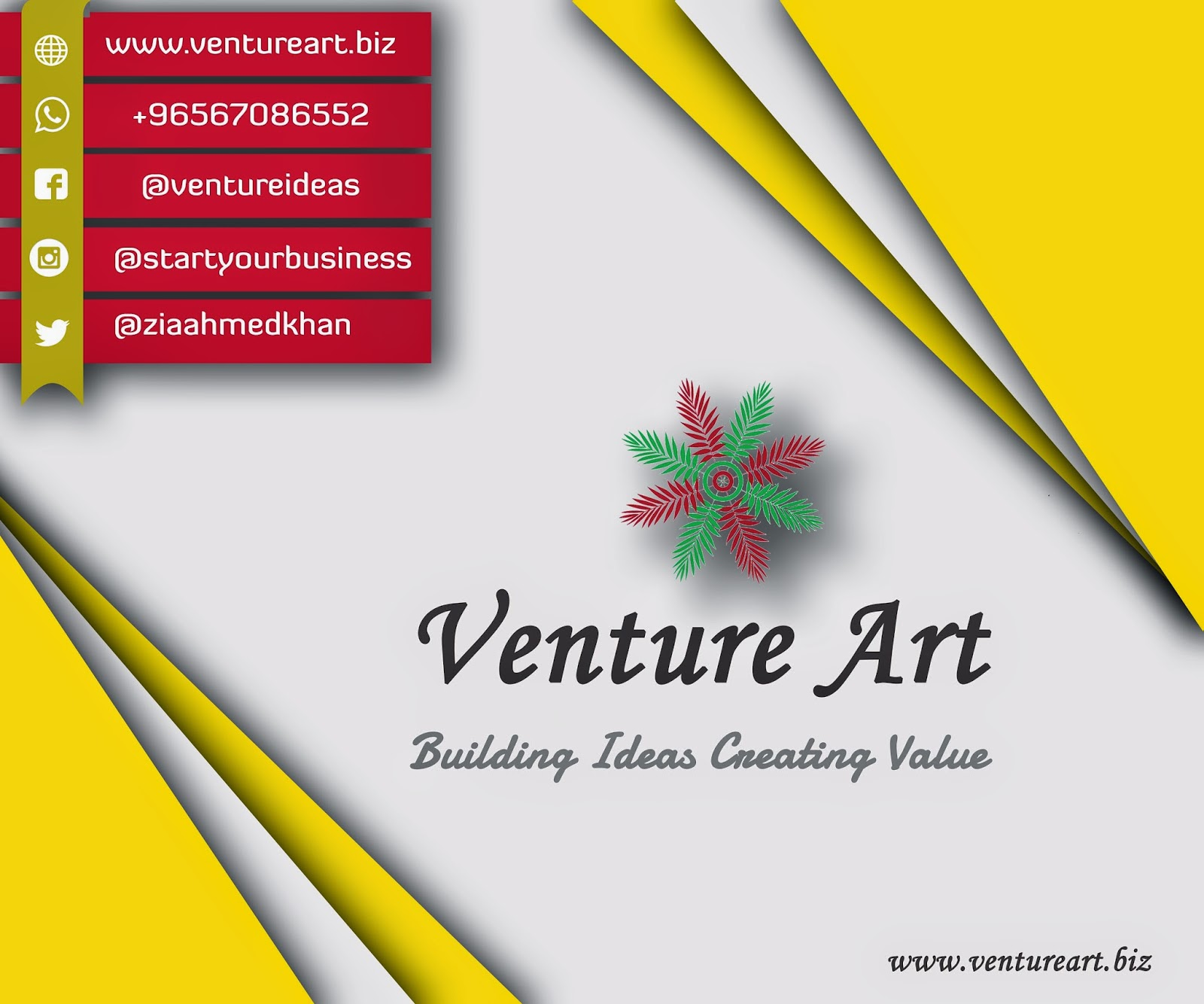 Building Ideas Creating Value - Venture Art, Small Business, Entrepreneurship, Start-Up
