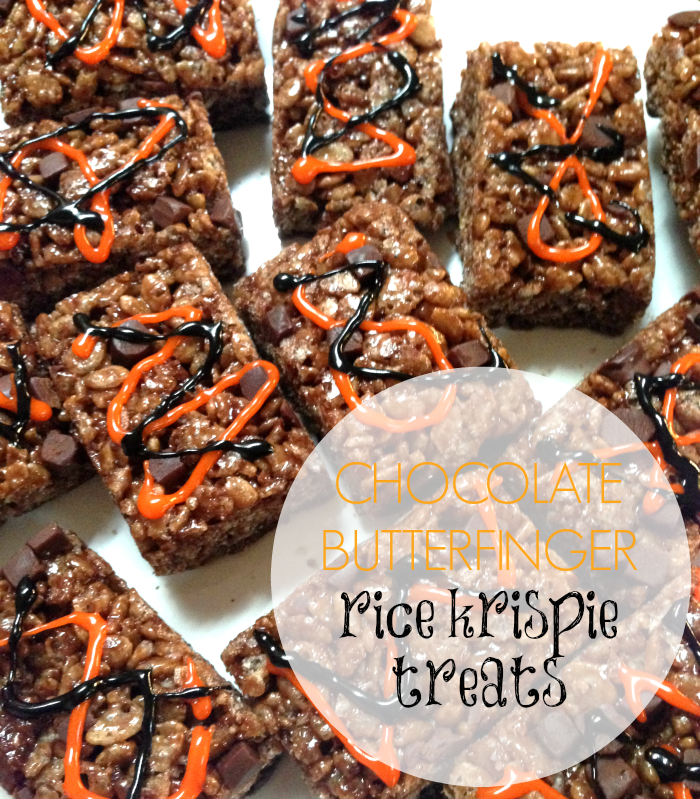 Halloween, Candy, Fall, Halloween Decorations, Recipes, Butterfinger, Rice Krispies