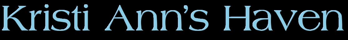 Kristi Ann's Blog