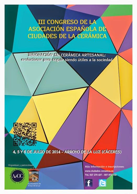 III CONGRESO DE LA ASOCIACIÓN ESPAÑOLA DE CIUDADES DE LA CERÁMICA