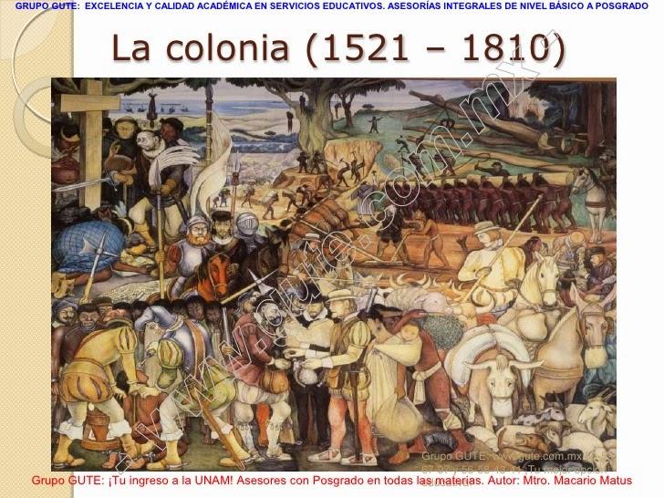 La colonia o virreinato en m xico 1521 1810 for Como se cocina la col