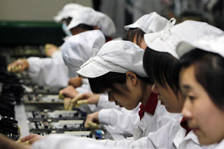 Apple Assembly Line in China