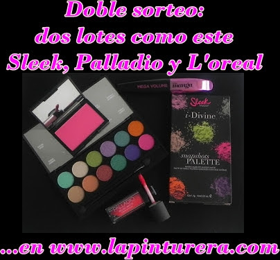 DOBLE SORTEO (Sleek, Palladio y L'oreal)