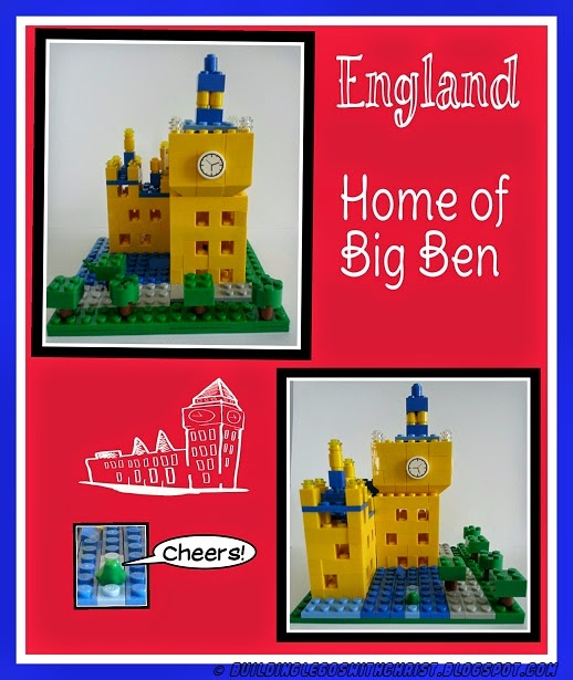 Homeschooling with LEGO Bricks - England Creations