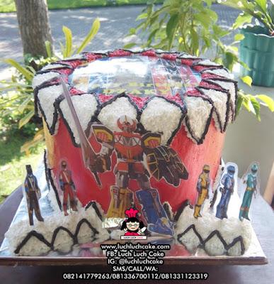 Kue Tart Power Rangers Dengan Foto
