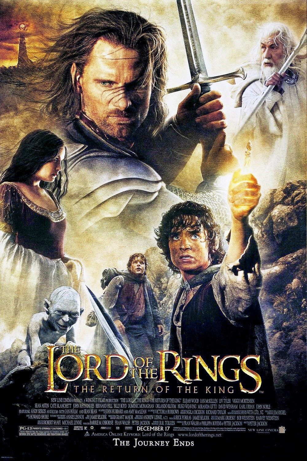 The Lord of the Rings: The Return of the King 2003 - Full (HD)