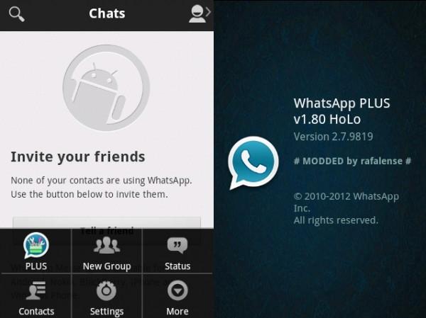 تحميل برنامج واتس اب بلس الازرق اخفاء الظهور للاندرويد – WhatsApp PLUS