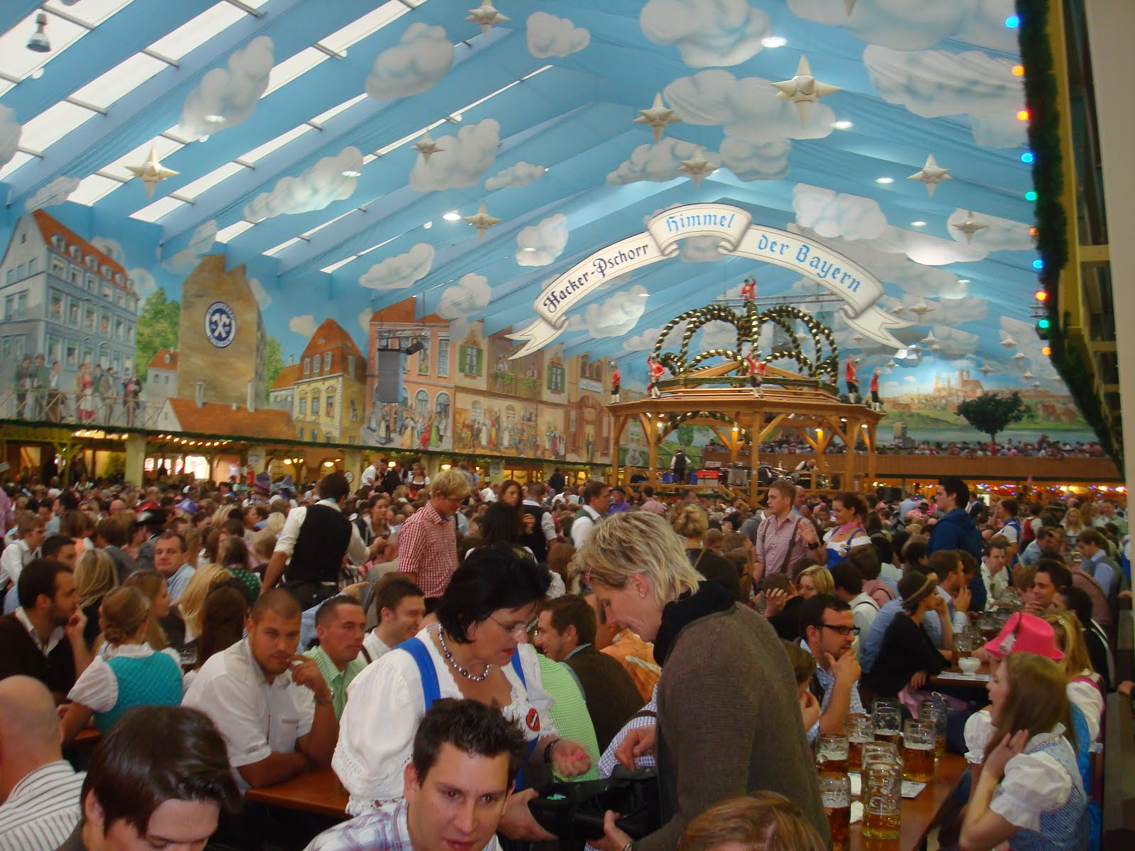 Augustiner-Bräu obviously serves Augustiner beer which many consider to be the best of Munichu0027s  Big Six  breweries. The tent holds 6000 inside and another ...  sc 1 st  rowdy in germany & ROWDY IN GERMANY: Oktoberfest Tents