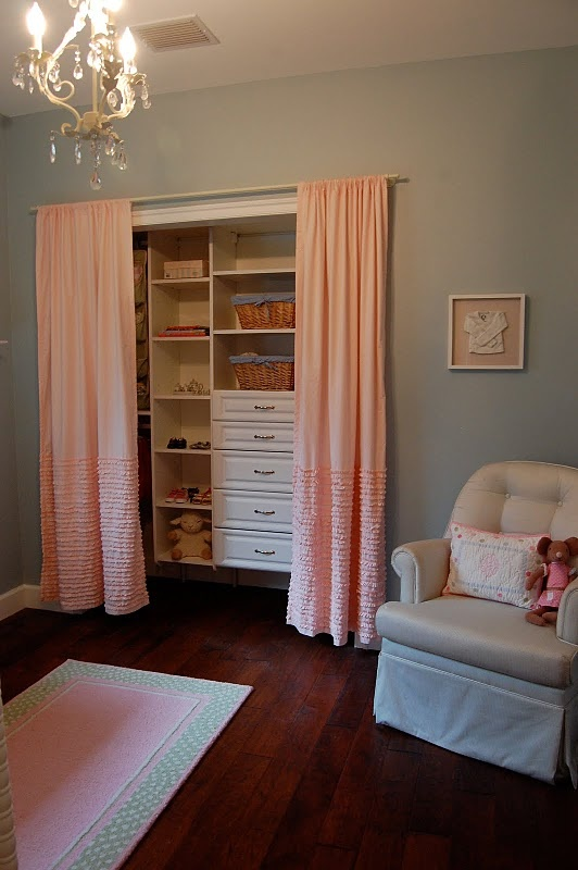 HB at Home: Curtains Instead Of Closet Doors