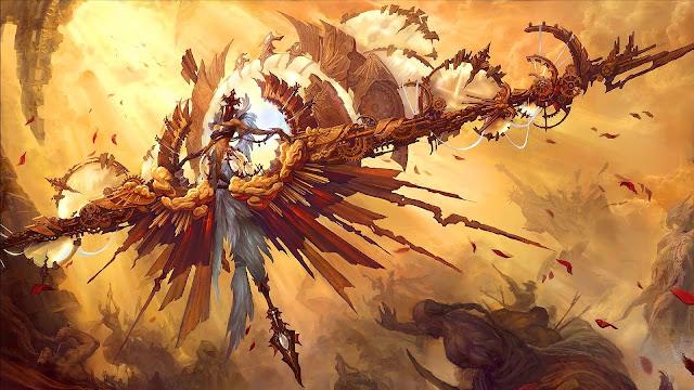 Angel Fantasy Art HD Wallpaper