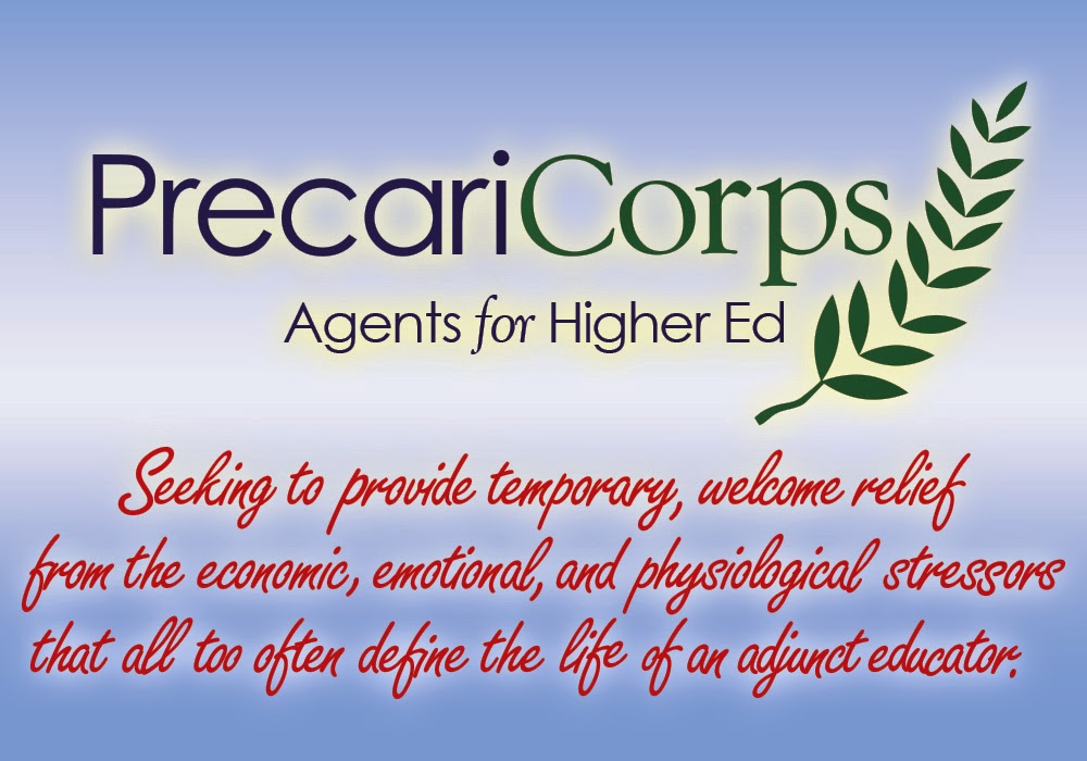 PrecariCorps: Agents for Higher Ed