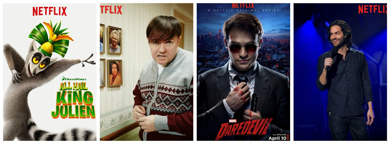 Netflix Originals this April 2015 #streamteam