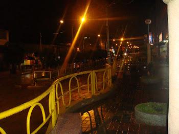 Una noche lluviosa en San Juan