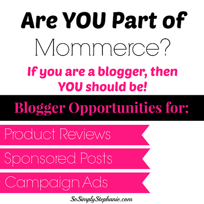 Join Mommerce for Great Blogging Opportunties