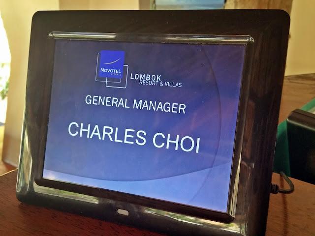 Novotel Lombok - General Manager Mr Charles Choi | www.meheartseoul.blogspot.com