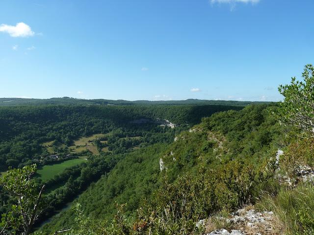 [CR] Bruniquel (82), Gorges de l'Aveyron le 09 juillet 2015. P1070542