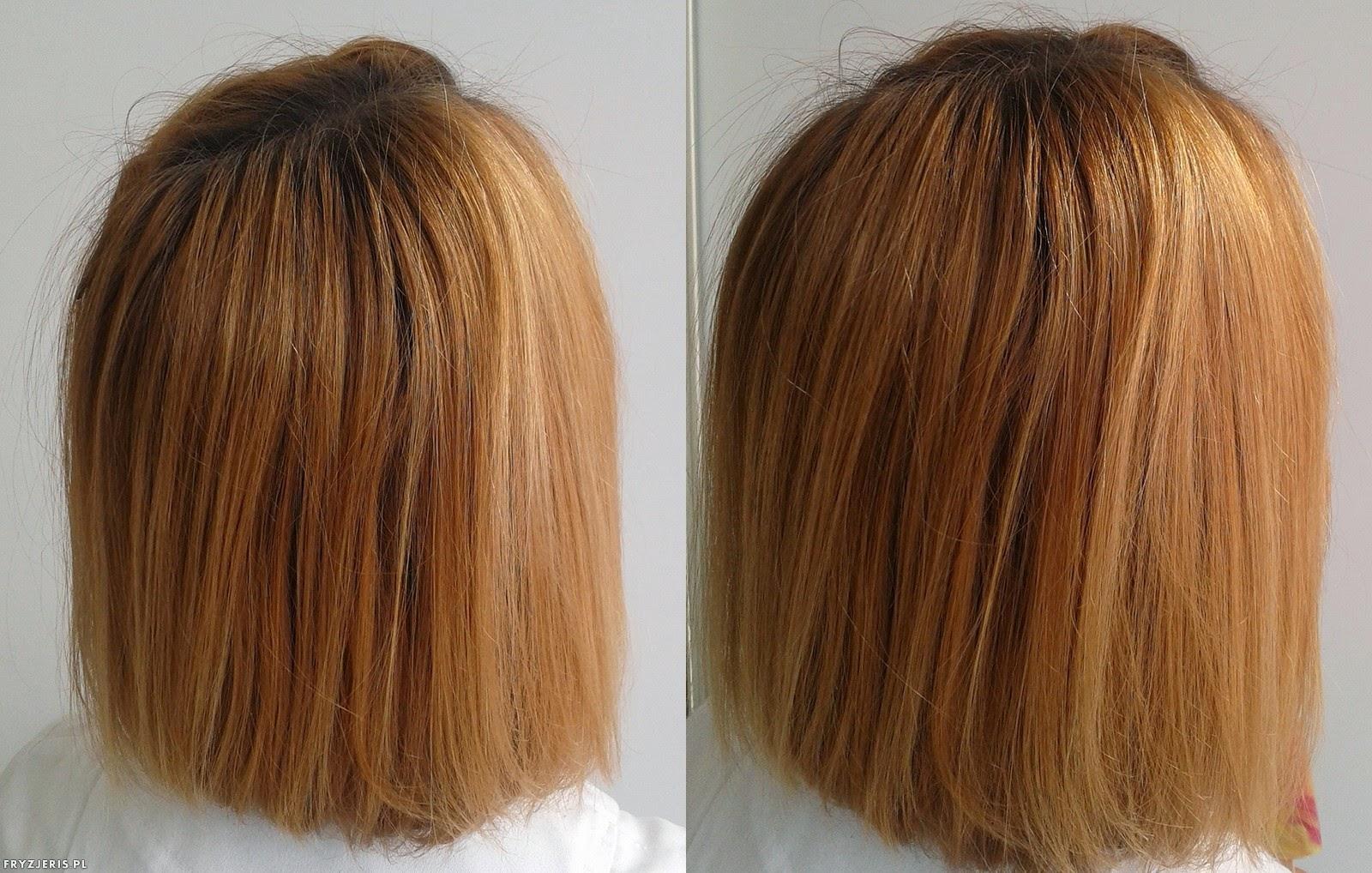 koloryzacja rudy kolor włosów 1
