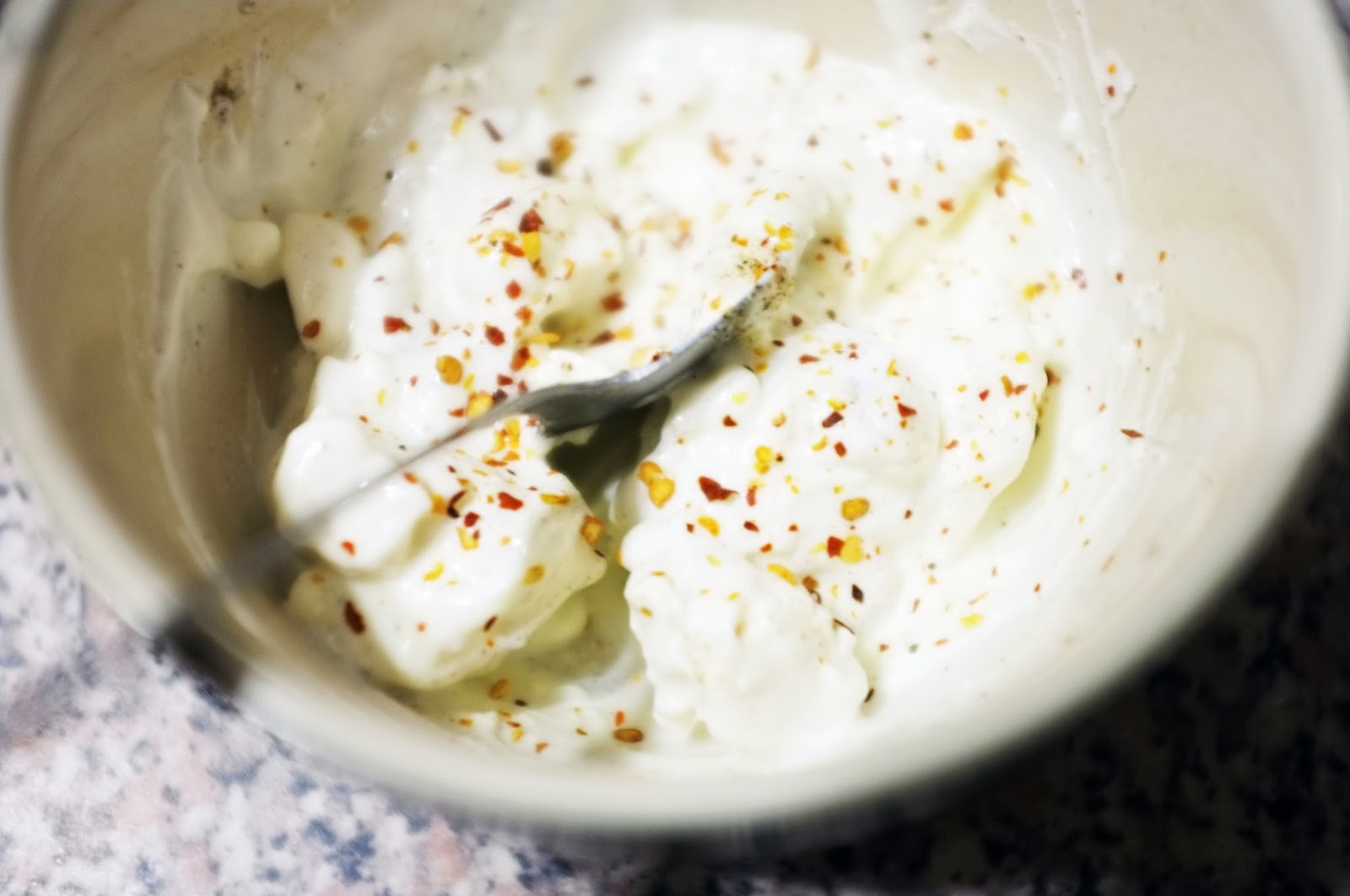 feta cheese dip with chilli flakes feta cheese dip 3