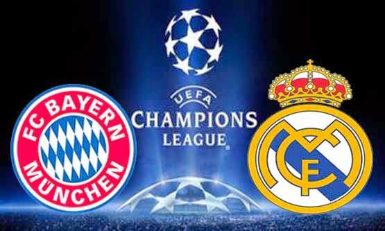 Ver Bayern vs Real Madrid en vivo | Martes 29 de Abril de 2014 |  Semifinal VUELTA,Champions 2013-14 Online