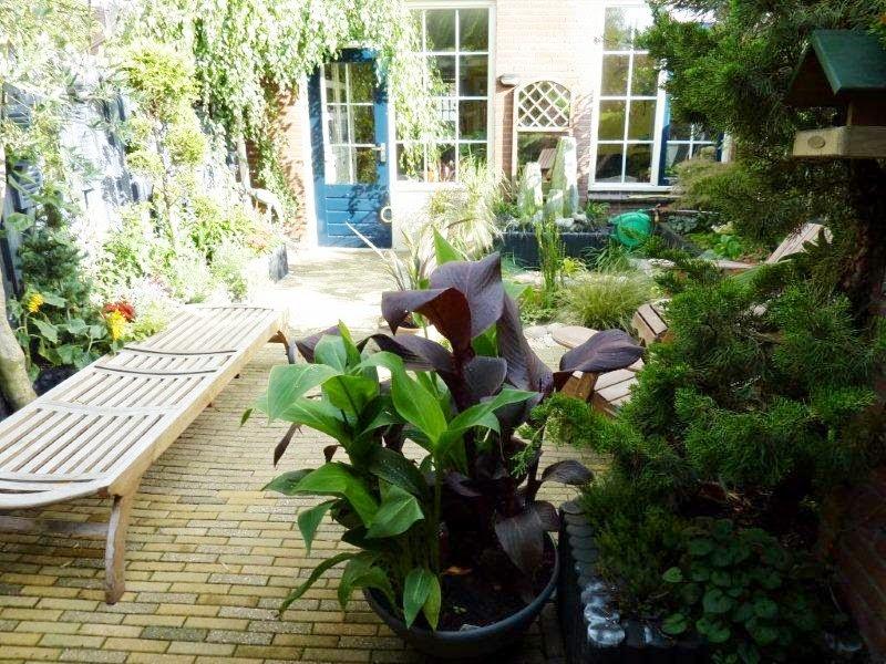 bij marijke thuis tuin veranderen