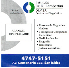 AUSPICIANTE: INSTITUTO DR. R. LAMBERTINI