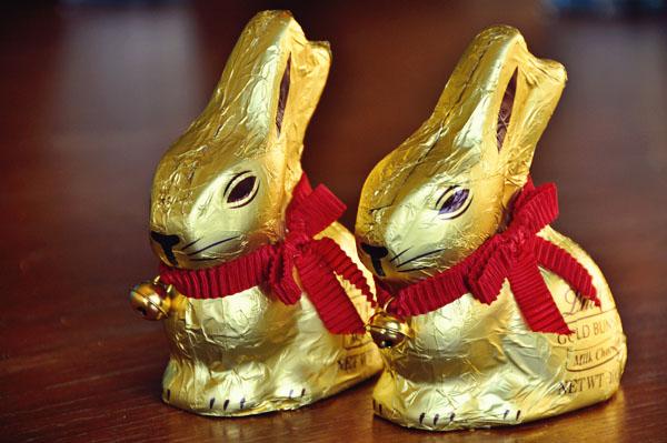 Lindt Gold Bunny Easter