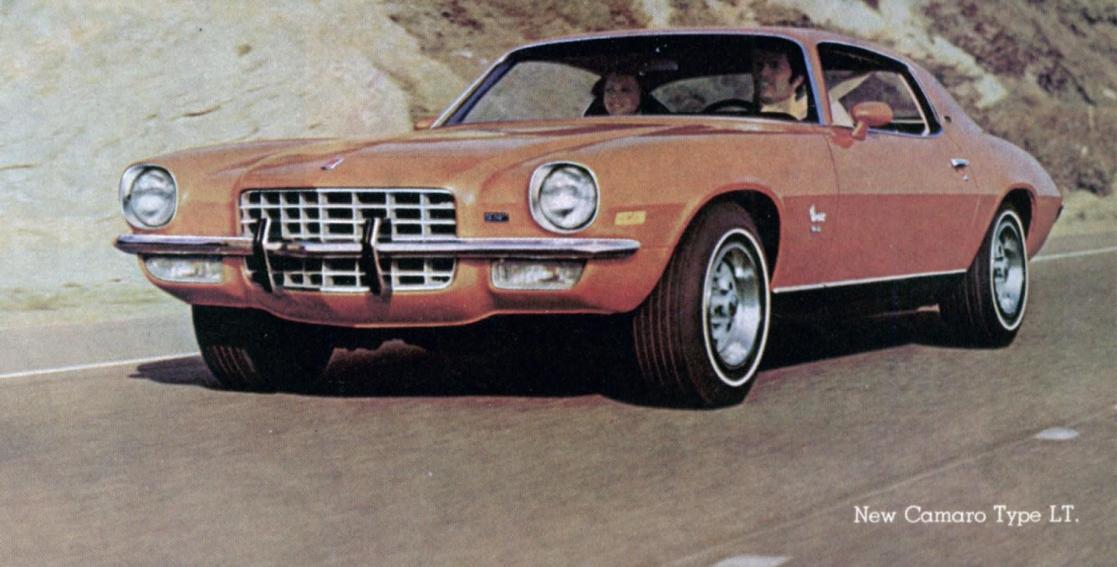The Camaro Lt Era 1973 1979 Phscollectorcarworld Chevrolet Vega Wiring Diagram