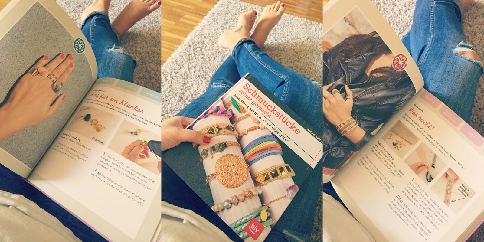DIY Buch mit Armbändern, Ketten und Aufbewahrungs-Ideen