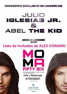 MOMA Fifty Six Jueves 14 de noviembre