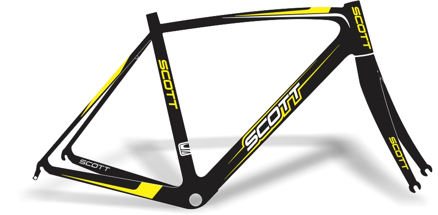 Armario Jardin Resina ~ Stickers Design Adesivo Bike Scott Speed