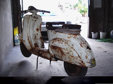 A Vespa do Amigo Floriano