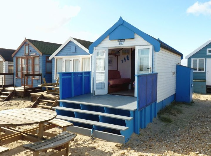 Shedworking mudeford beach huts for sale for Garden huts for sale